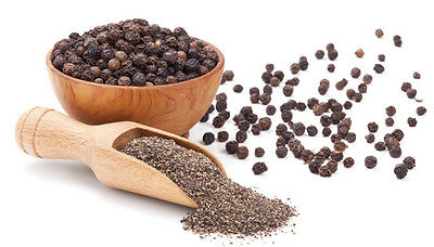 HAYLLO PREMIUM PEPPER PEPPERCORNS BLACK WHOLE/GROUND/POWDER INDIA 4 OZ - 5 LB
