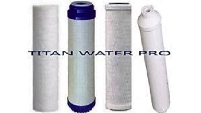 Reverse Osmosis Water Filter Replacement Water FIlter Set 4