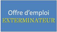 offre d'emploi exterminateur CD5