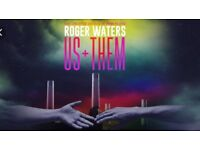 2x Roger Waters Us and Them tour Birmingham 7th July