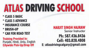 Driving Lessons - Atlas Driving School