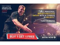 Tony Robbins - Unleash the Power Within. London | VIP Ticket | 27th - 30th April 2017