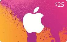 iTunes US Gift Cards, Ready for BULK orders and End User Sydney City Inner Sydney Preview