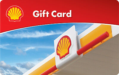 Купить $10 / $25 / $50 Shell Gas Gift Card - Mail Delivery