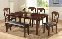 NEW Six piece dining sets (model 2207) available