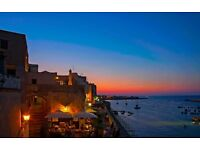 holidays in Italy.Otranto Puglia.Renting cheap flat