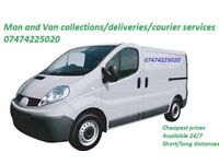 Man and Van collections/deliveries/courier services