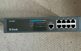 D-Link DFE-908Dx 8-Port 10/100 Dual Speed Hub