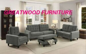 BRAND NEW 3 PIECE SOFA SET FOR $799 ONLY