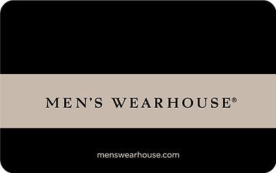 25 Mens Wearhouse Gift Card   Mail Delivery