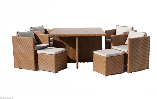 coole lounge m bel aus polyrattan hot spots im sommer ebay. Black Bedroom Furniture Sets. Home Design Ideas