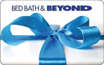 $25 Bed Bath & Beyond Gift Card - Mail Delivery