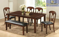 Six piece dining sets available in box