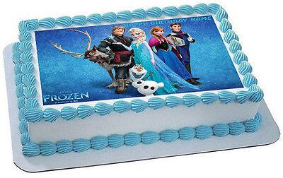 FROZEN (Nr3) - Edible Cake Topper OR Cupcake Topper, Decor ()