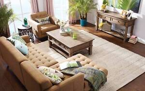 Urban Barn Cosgrove Sectional Sofa/Couch in Taupe