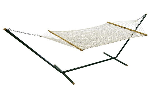 the algoma 6250 is an 11 foot rope hammock with a 12 foot steel stand  the hammock measures 36 inches wide and the hammock stand is 45 inches tall  top 5 algoma hammocks   ebay  rh   ebay