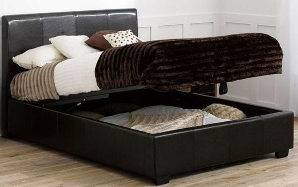 Excellent Faux Leather Storage Ottoman Buy Or Sell Find It Used Ibusinesslaw Wood Chair Design Ideas Ibusinesslaworg