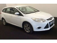 2014 Ford Focus 1.6TDCi 115ps Edge Estate £20 Tax 1 Owner Direct from Police