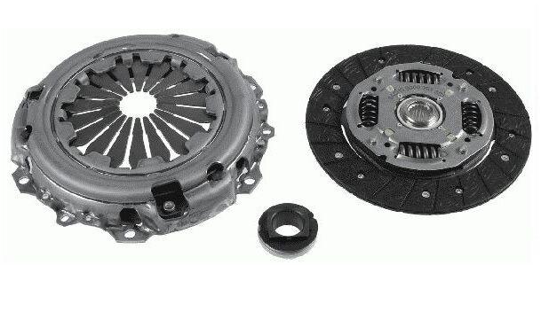Valeo Clutch Kit For Citroen C2 C3 Peugeot 1007 206 207 307 1.4 HDi 8V 826372