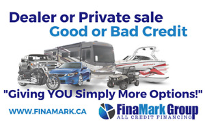Auto, RV, Marine, Powersport Financing and Leasing. All Credit!