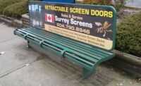 Surrey Screens Retractable Screen Door & Window Screens Service.