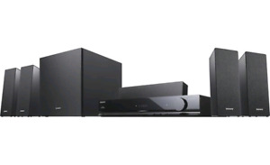 Sony HT-SS380 3D Surround Sound System + Sony Bluray Player $100
