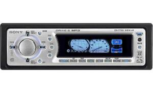 Sony Xplod CDX F7705X AM/FM CD Player Excellent condition