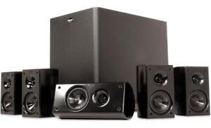 Klipsch HD Theater Compact 5.1 with Powered Subwoofer