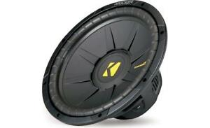 Kicker  COMPS  12in  4 ohm Subwoofer-NEW IN BOX