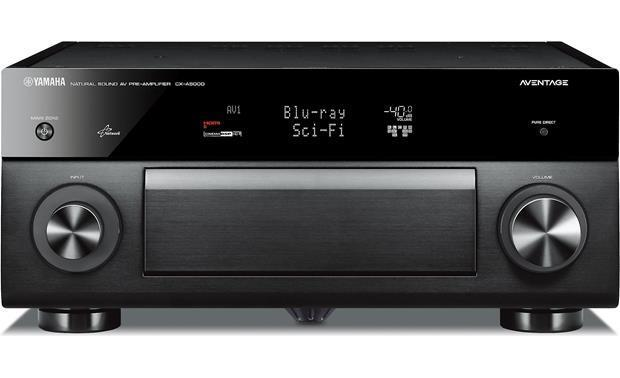 Yamaha AVENTAGE 11.2-Ch. 4K Ultra HD and 3D Pass-Through A/V Preamplifier Black CX-A5000
