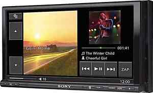 """Reduced 220$  : Sony 7"""" Double-Din Touch Screen"""