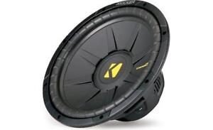 Kicker 12in 4-Ohm Subwoofer- NEW IN BOX
