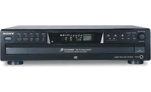 Sony 5 disc cd changer cdp ce 375