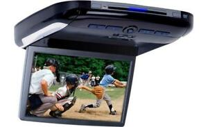 "Alpine 10.2"" Overhead Video Monitor with Built-In DVD Player"
