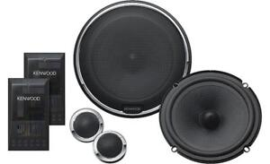 "Kenwood 6.5"" Component Car Speakers System"