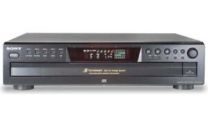 Sony CDP-CE275 5-Disc CD Player **no remote**