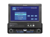 "Pioneer In-Dash Multimedia System-DVD Video, touch scrn AVH-P5700DVD SWAP FOR 40""+ PLASMA , LED TV"