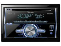 Double din cd USB voice recognition and Bluetooth