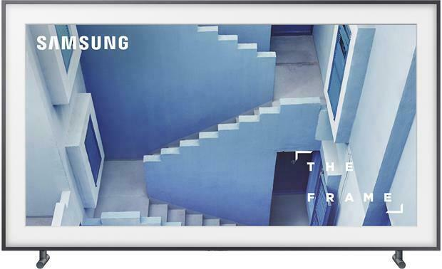 """Samsung UN43LS003 43"""" Class The Frame Premium 4K UHD TV UN43LS003AFXZA"""