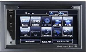 New Clarion VX400, DVD Receiver with Remote and 110 power supply