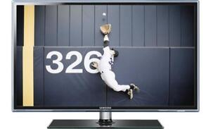 "Samsung 55"" UN55D6500 SMART LED 3D HDTV (Like New)"