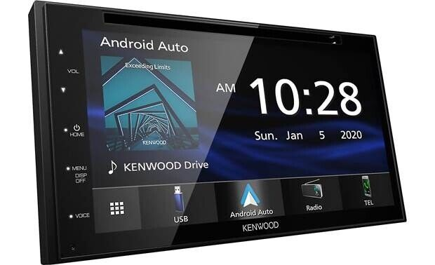 """Kenwood DDX5707S 6.8"""" DVD Receiver w/ CarPlay or Android Auto built in bluetooth"""