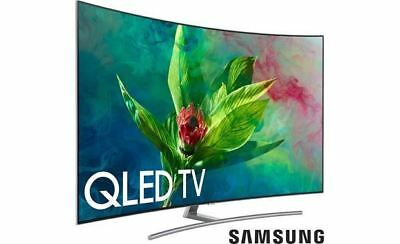 "Samsung QN55Q7CN 55"" curved Smart QLED 4K Ultra HD TV with HDR"
