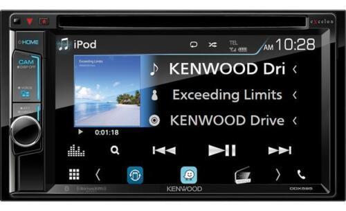 "Kenwood eXcelon DDX595 6.2"" WVGA DVD Receiver w/ Bluetooth"