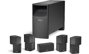 Bose 7.1 Home Theater Surround Speakers with 2 Subwoofers