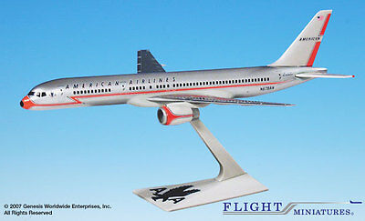 Flight Miniatures American Airlines Boeing 757 200 40Th Ann Livery 1 200 Scale