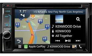 Kenwood Double DIN Multimedia DVD Unit Navi/Bluetooth DNX693S