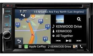 Kenwood Double DIN Multimedia DVD Unit Navi/Bluetooth DNX693S
