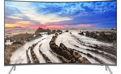 "Samsung UN65MU8500 65"" curved Smart LED 4K Ultra HD TV with HDR"