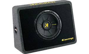 "Kicker 10"" Sub and Box + JL 250.1 Amplifier"